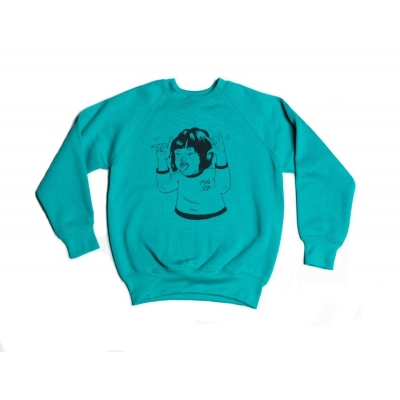 "Sweater ""Mini_ian"" groen"
